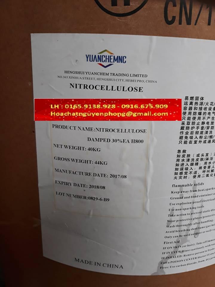Nitrocellulose H800 ,Trung Quốc