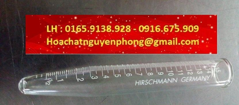 Ống ly tâm thủy tinh 15ml , Hirschman , Germany