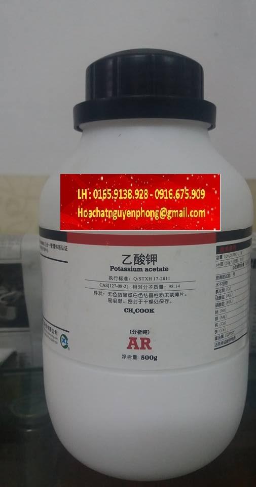 Kali axetat , CH3COOK , Potassium acetate , XILONG