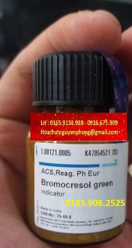 Bromocresol green , 76-60-8 , Merck