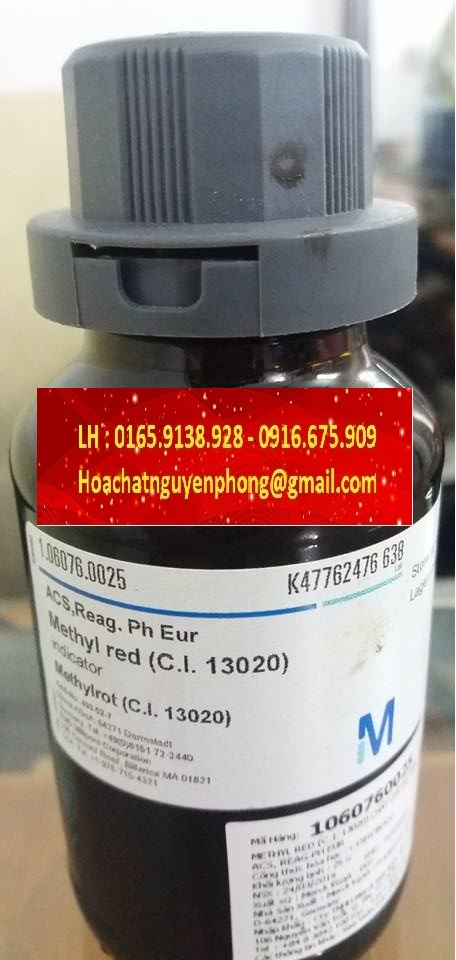 METHYL RED , MERCK , ĐỨC ,