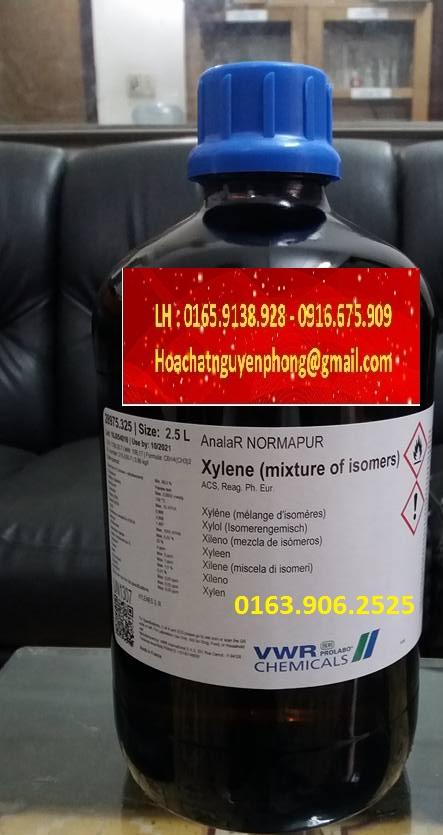 XYLENE ,PROLABO, C6H4(CH3)2 ,  VWR , Prolabo , PHÁP , 1330-20-7