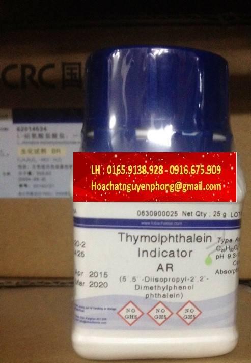 Thymolphthalein , C28H30O4 , Ấn Độ