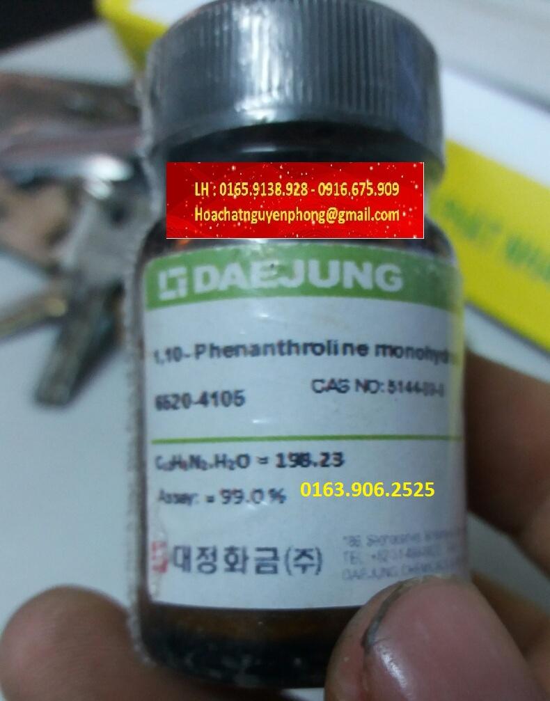 5144-89-8 , 1,10-PHENANTHROLINE MONOHYDRATE , DAEJUNG