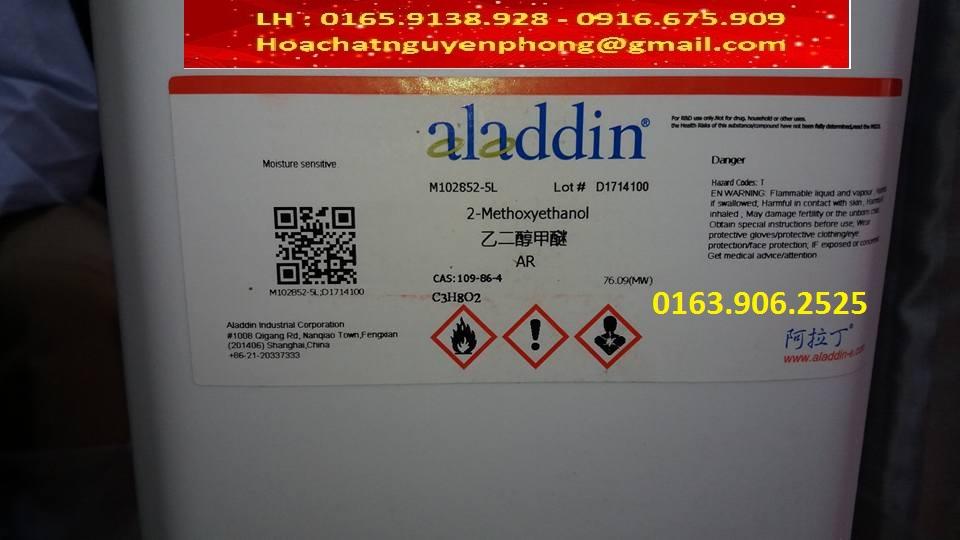 2-Methoxyethanol , C3H8O2 , ALADDIN , 109-86-4