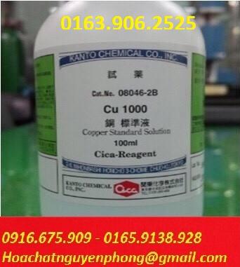 Dung dịch chuẩn Cu 1000 ppm , Copper Standard Solution 1000 ppm , Kanto , Nhật Bản