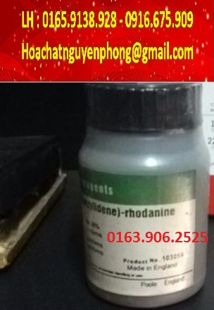 C12H12N2OS2 - Rhodanine - 5-(4-Dimethylaminobenzylidene)rhodanine ,