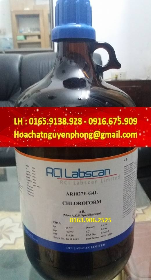 Chloroform , CHCl3 , Labscan , Thái Lan