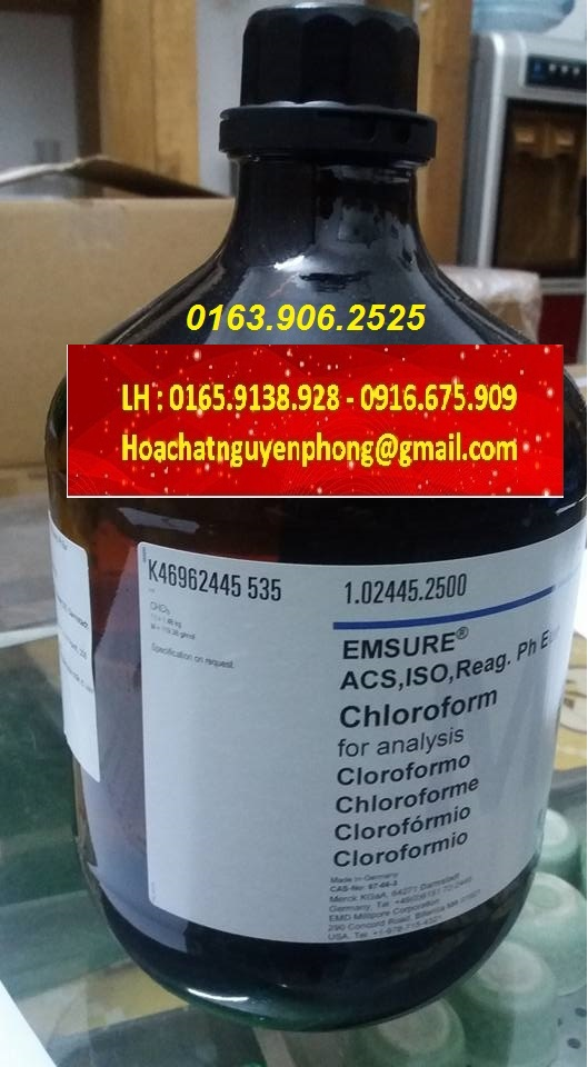 CHLOROFORM , CHCL3 , MERCK