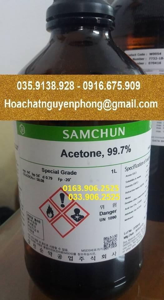 Acetone , Samchun , Hàn Quốc
