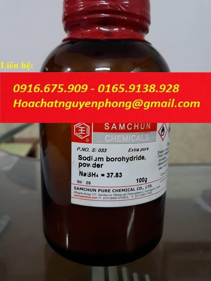 NaBH4 , Sodium borohydride , Natri borohydride ,Samchun , Han quoc