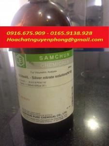 Dung dịch chuẩn AgNO3 0.1N  , Silver nitrate solution 0.1N , Samchun