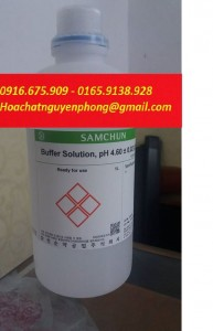Buffer Solution pH 4.6 , Samchun , Hàn Quốc