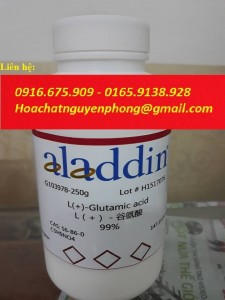 Axit L-glutamic , L (+) - Axit glutamic ,  C5H9NO4 , ALADDIN ,