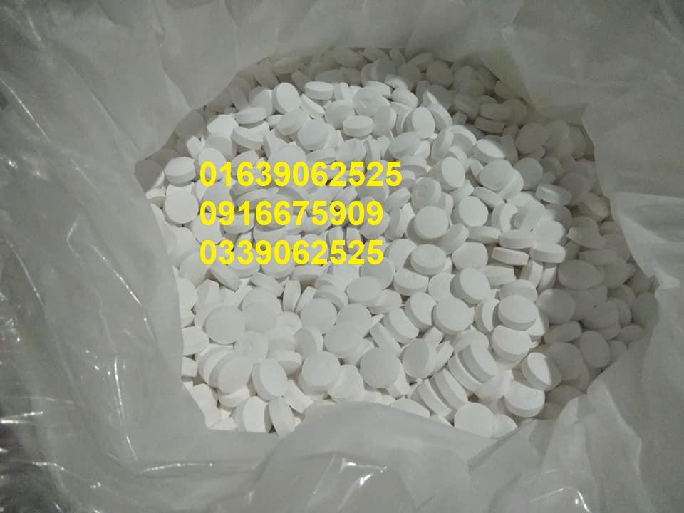 TCCA , Tricholoroisocyanuric acid , viên khử trùng nước