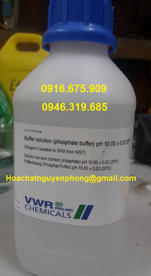 Buffer solution pH 10 , Prolab , Pháp