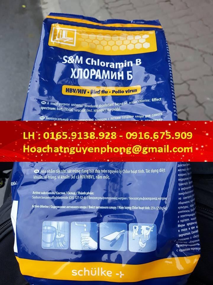 Chloramin B  , Tiệp