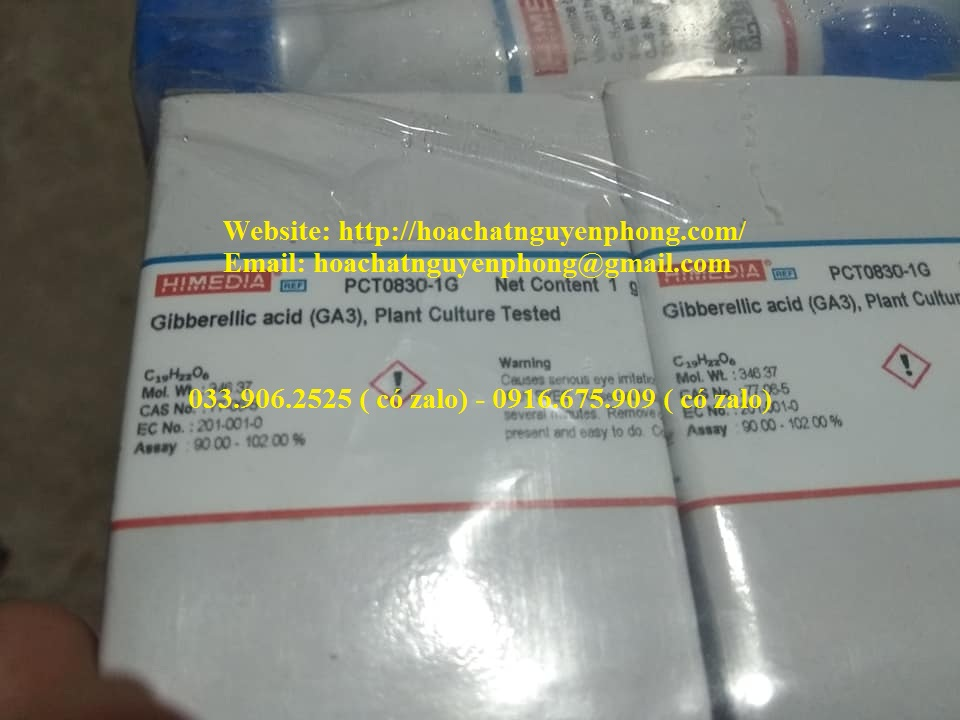 Gibberellic acid , GA3 , Himedia , Ấn Độ