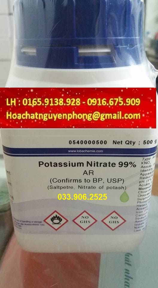 Kali Nitrate , Potassium Nitrate , KNO3 , Ấn Độ ,
