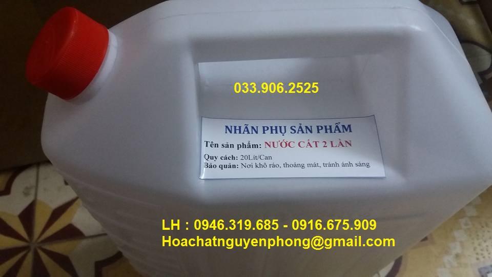 Nước cất 2 lần , Việt Nam