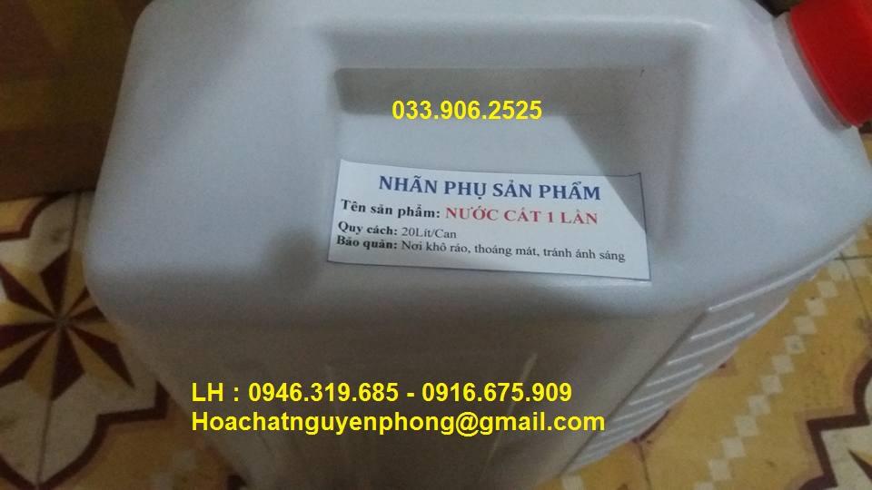Nước cất 1 lần , Việt Nam