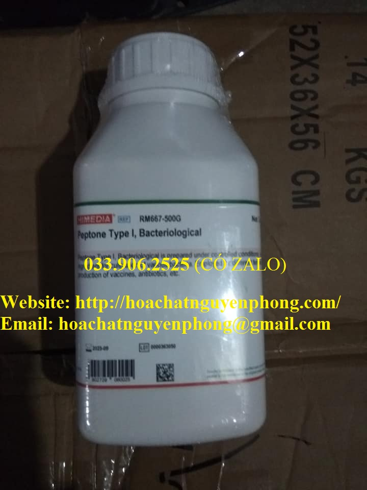 Peptone , Type I, Bacteriological , Himedia , Ấn Độ
