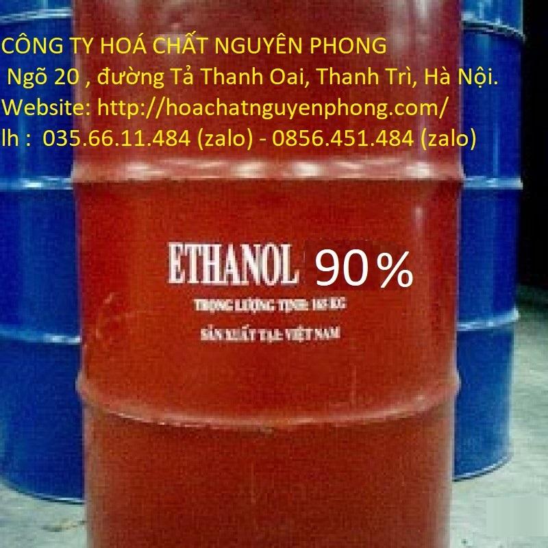 Ethanol tẩy rửa, đốt 90%