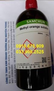 Methyl orange solution , C14H14N3NaO3S , Samchun , Hàn Quốc