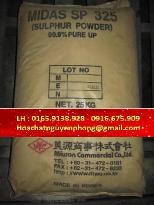 Suphur , S , Lưu Huỳnh