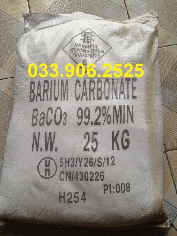 BaCO3 , Barium carbonate