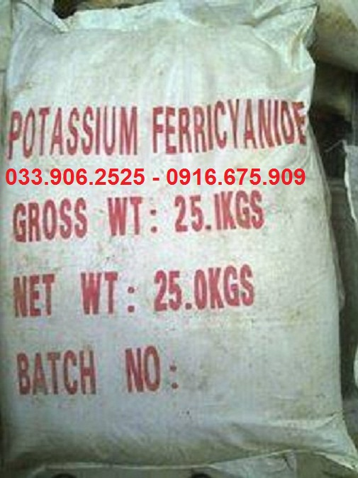 Kali Ferricyanide , K3Fe(CN)6 , Potasium Ferricyanide